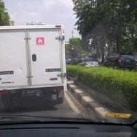 Photo taken at Jalan H.R. Rasuna Said by Usman S. on 11/29/2012