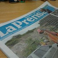 Photo taken at Diario La Prensa by Freddy B. on 7/5/2013