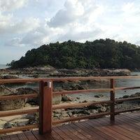 Photo taken at Mutiara Burau Bay Beach Resort by Fizz M. on 12/28/2012