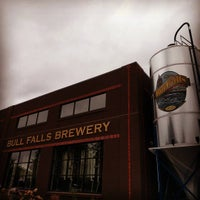 Photo taken at Bull Falls Brewery by Emily on 9/17/2016