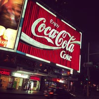 Photo taken at The Coca-Cola Billboard by Syed Rehman Shah B. on 11/20/2012