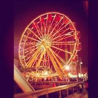 Photo taken at Six Flags Fiesta Texas by Daniel G. on 12/10/2012