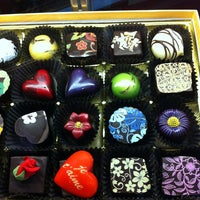 Photo taken at Sweet Paradise Chocolatier by Dania Katz on 2/4/2013