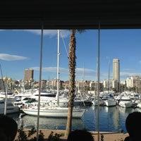 Photo taken at La Taberna Del Puerto Alicante by Raspete J. on 12/21/2012