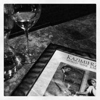 Photo taken at Kazimierz World Wine Bar by Yareli on 2/18/2013