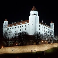Photo taken at Bratislava Castle by Daniel M. on 11/13/2013