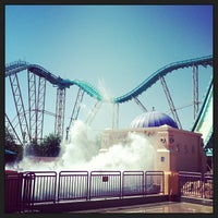 Photo taken at Journey to Atlantis by Skyler S. on 5/5/2013