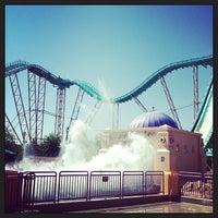 Photo taken at Journey to Atlantis by Skyler S. on 5/5/2013
