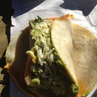 Photo taken at La Luna Market & Taqueria by Allison on 1/26/2013