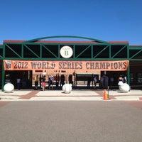 Photo taken at Scottsdale Stadium by Jose on 3/12/2013