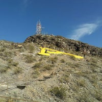 "Photo taken at ""A"" Mountain (Hayden Butte Preserve) by Bryce C. on 1/1/2013"