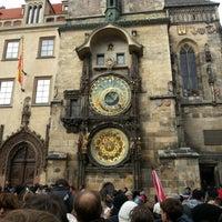 Photo taken at Prague Astronomical Clock by Roman M. on 11/3/2012