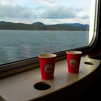 Photo taken at M/V Hyak (Washington State Ferry) by Kathy J. on 3/17/2013