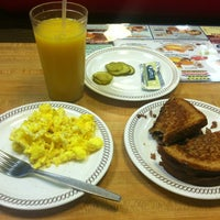 Photo taken at Waffle House by Adan on 3/16/2013
