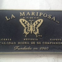 Photo taken at La Mariposa by Thalía K S. on 12/24/2012