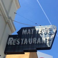 Photo taken at Matteo's by Offbeat L.A. on 4/19/2016