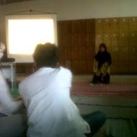 Photo taken at Fakultas Geografi by Riza Fadholi P. on 9/14/2012