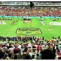 Photo taken at Suncorp Stadium by Adam G. on 2/9/2013