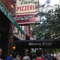 Photo taken at Gino's East by Gino's East The Original of Chicago on 8/14/2014