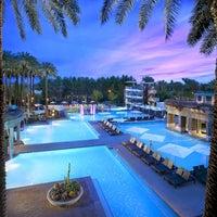 Photo taken at Hyatt Regency Scottsdale Resort and Spa at Gainey Ranch by Hyatt Regency on 4/3/2014