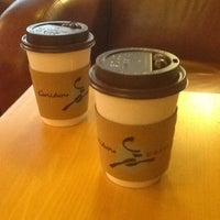 Photo taken at Caribou Coffee by Omar on 10/9/2012