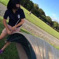 Photo taken at 庄内夕日の丘オートキャンプ場 by Hitomi Y. on 8/11/2014