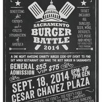 Photo taken at Sacramento Burger Battle 2015 by Sacramento Burger Battle 2015 on 8/27/2014