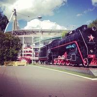 Photo taken at Стадион «Локомотив» by Валерия on 8/26/2013