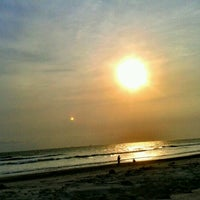 Photo taken at Pantai Panjang (Long Beach) by Muchliz U. on 10/4/2012