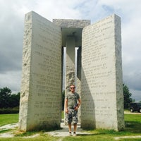 Photo taken at Georgia Guidestones by Stacy W. on 8/2/2014