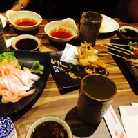 Photo taken at Senki Japanese Restaurant by Agnes Lai on 6/16/2015