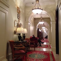 Photo taken at The Lanesborough, a St. Regis Hotel by celina on 10/16/2013