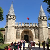 Photo taken at Topkapı Palace by Sam D. on 6/22/2013