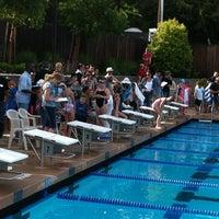 Photo taken at Alpine Hills Tennis & Swimming Club by Bill J. on 4/27/2012