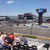 Photo taken at Pocono Raceway by Rodrigo O. on 6/9/2013