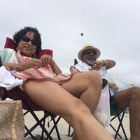Photo taken at 12th Street Beach by donyale on 7/20/2014