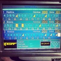 Photo taken at Strike Bowling Park by Breno L. on 6/12/2013