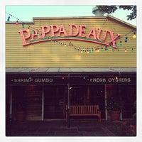 Photo taken at Pappadeaux Seafood Kitchen by Ashley H. on 5/8/2013