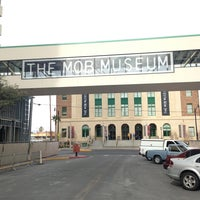 Photo taken at The Mob Museum by Jihoon R. on 2/19/2013