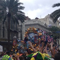 Photo taken at Mid City Parade by Catherine on 2/10/2013