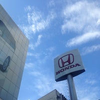 Photo taken at Wong Honda Cars by Kittiphong B. on 9/16/2013