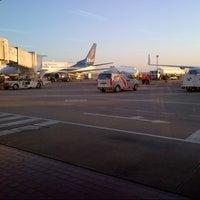Photo taken at Viru Viru International Airport (VVI) by Luhan O. on 1/28/2013