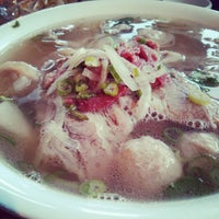 Photo taken at Pho Hung by Edmond W. on 12/23/2012