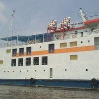 Photo taken at Pelabuhan Tanjung Buton Riau by Meliat Haryandi K. on 4/18/2013