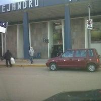 Photo taken at Aeropuerto Internacional Alejandro Velasco Astete (CUZ) by Joel M. on 6/23/2013