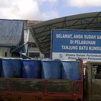 Photo taken at Pelabuhan Tanjung Batu Kundur by iqum f. on 5/4/2013