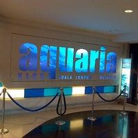 Photo taken at Aquaria KLCC by Aqil K. on 2/26/2013