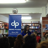 Photo taken at Deniz Plaza by Zeliha S. on 2/8/2013