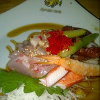 Photo taken at Monster Sushi by Crystal C. on 11/10/2012