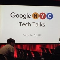 Photo taken at Google New York by Alexandra W. on 12/5/2016